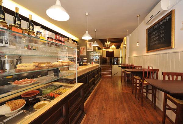 arredamento bar Caffè Noir, Verona