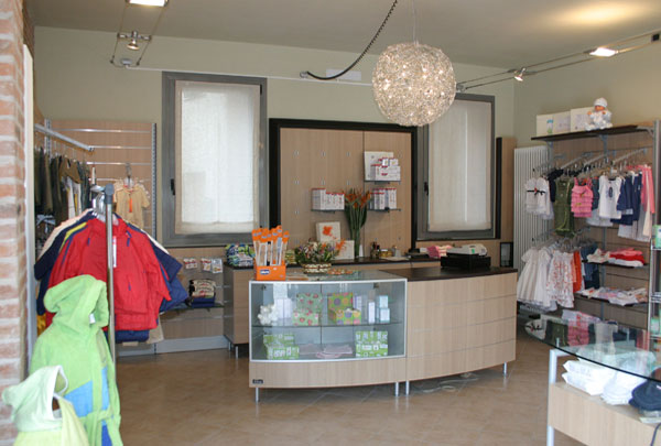 clothing store furniture Verona, Veneto - Italy, clothing store Il Piccolo Cuore
